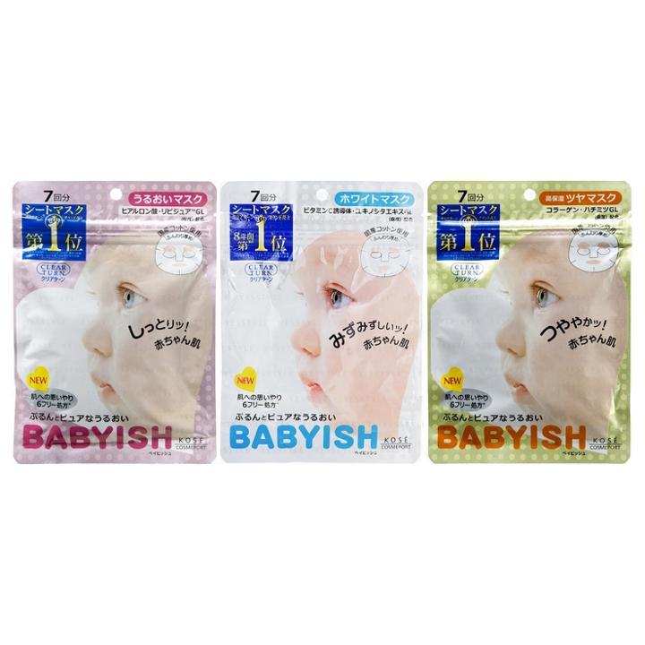 Kose - Clear Turn Babyish Mask