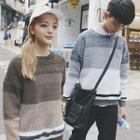 Gradient Couple Matching Sweater