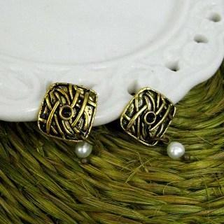 Copper Classic Earrings Copper - One Size