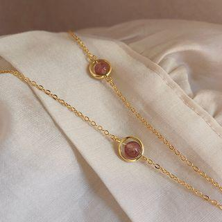 Bead Copper Bracelet Gold - One Size