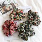 Flower Print Hair Tie