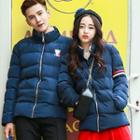 Matching Couple Stand Collar Padded Jacket