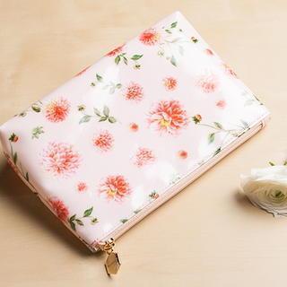 Floral Print Pouch