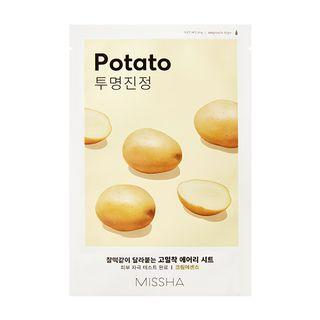 Missha - Airy Fit Sheet Mask 1pc (potato) 19g