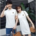 Couple Matching Short-sleeve Polo Shirt / Dress