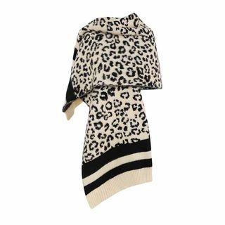 Leopard Print Scarf Leopard - One Size