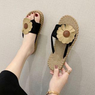 Flower Platform Slippers