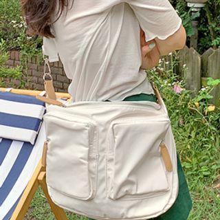 Fabric Utility Messenger Bag