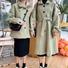 Buttoned Coat / Buttoned Long Coat