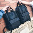 Front Pocket Zip Backpack