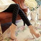 Heart Patterned Leggings
