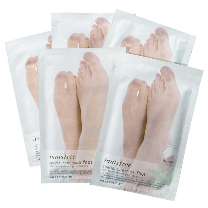 Innisfree - Special Care Mask - Foot 5 Pairs