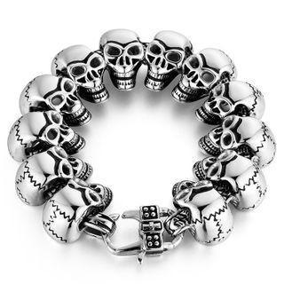 Skull Stainless Steel Bracelet