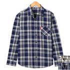 Madras-check Cotton Shirt
