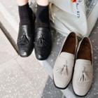 Tassel Low Heel Loafers