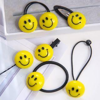 Smiley Face Hair Clip