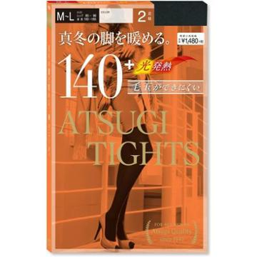 Atsugi - Tights Denier 140+ M-l 2 Pairs