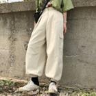 Harem Cargo Pants Almond - One Size