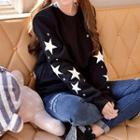 Star Applique Sweatshirt