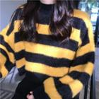 Striped Sweater Stripe - Pink - One Size