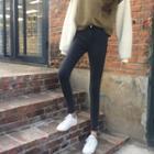 Skinny Fit Plain Pencil Pants