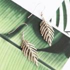 Leaf Single Drop Earring