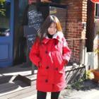 Faux-fur Trim Padded Jacket