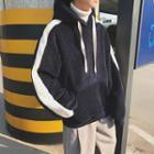 Long-sleeve Fleece Hooded Top