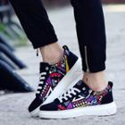Print Panel Canvas Sneakers