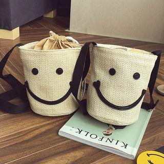 Smile Print Cross Bag
