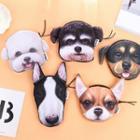 Dog Print Fabric Coin Purse (various Designs)