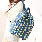 Heart Canvas Backpack