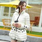 Appliqu  Padded Coat