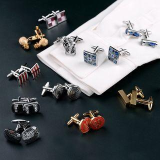 Alloy Cufflink (various Designs)