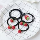 Strawberry Hair Tie / Hair Clip