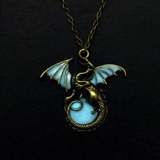 Dragon Glowing Necklace