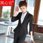 Set: Work Blazer / Skirt / Dress Pants / Vest