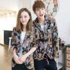 Couple Floral Button Jacket