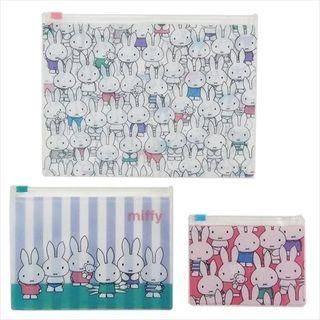 Miffy Clear Pocket Pouch (3p) One Size