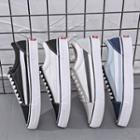 Canvas Strap Accent Sneakers