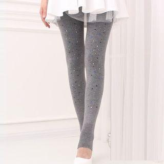 Embellished Stirrup Leggings