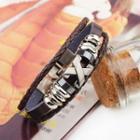 Cross Beaded Bracelet