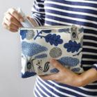 Canvas Printed Zip Pouch