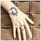 Rose Lace Ring Bracelet