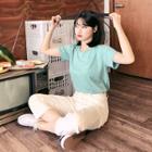 Pastel Color M Lange T-shirt