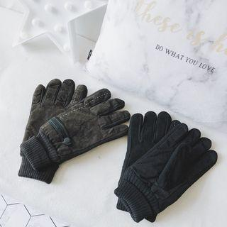 Stitched Detail Gloves
