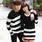 Couple Striped Knit Top / Striped Knit Dress