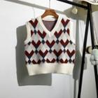 Knit Vest White - One Size