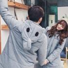 Couple Hooded Padded Coat