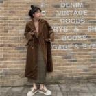 Corduroy Blazer Coat